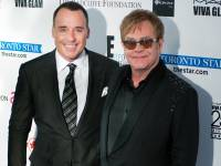 Elton John and David Furnish among celebrities at Fashion Cares 25