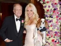 Hefner wedding is official: details on dress for his bride