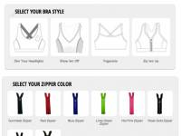 Bespoke: sexy sports bra options for fashionistas