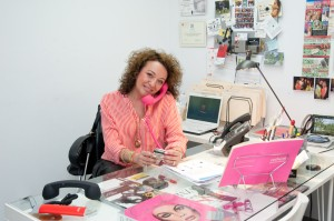 Perlmuter in her office.