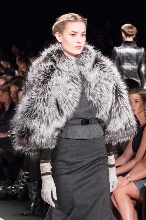 Carolina Herrera, fall-winter 2013. Photo by Kareen Mallon.