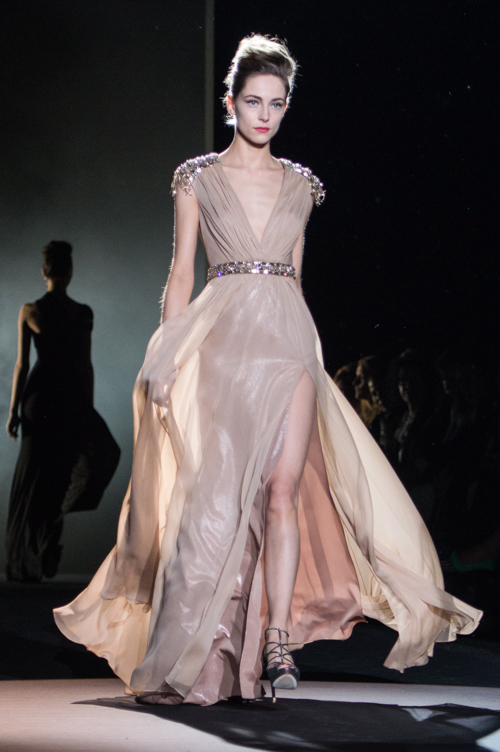 Badgley Mischka, fall-winter 2013. Photo by Kareen Mallon.