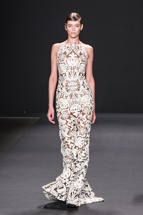 Naeem Khan, fall-winter 2013. Photo by Kareen Mallon.