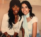 Meeting Kelly Rowland. I was photographing her for OK! Magazine. Nobody knew she was in town, except for me when I discovered it through a friend. So I broke the story and we got the Exclusive with her. Dubai, 2005.