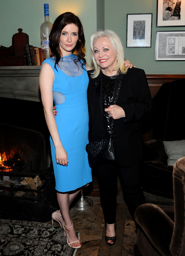 Bitsie Tulloch (left) and Jacki Weaver.