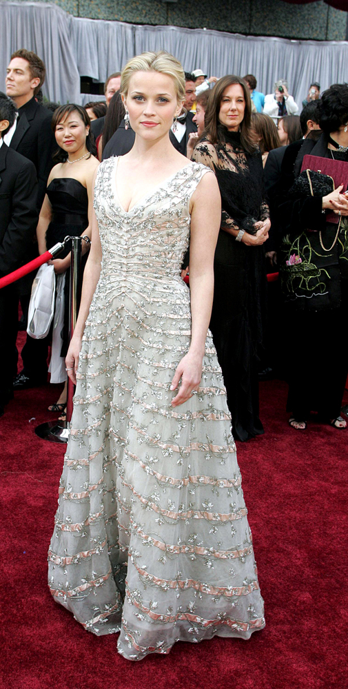 Reese Witherspoon in vintage Dior. Everett Collection / Shutterstock.com
