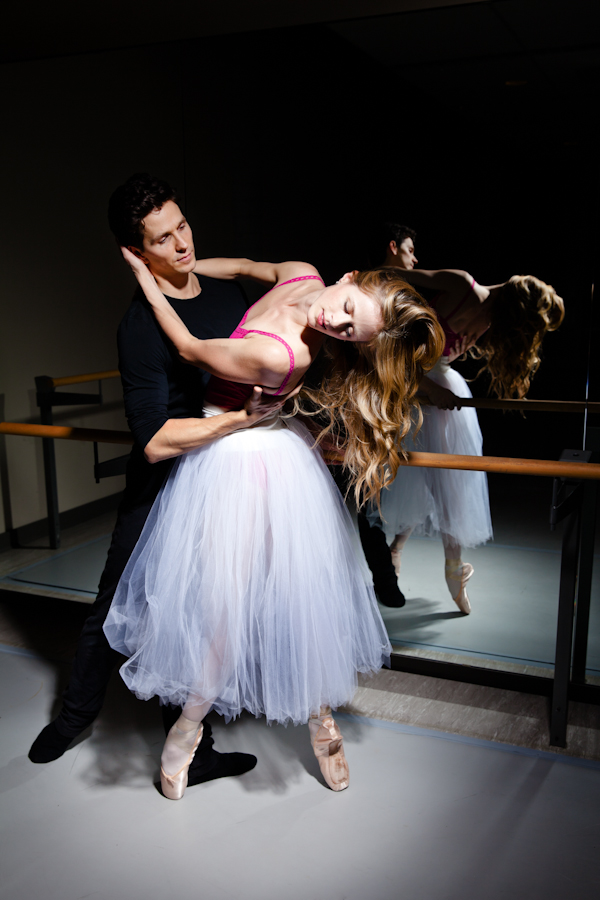 The duo dance together in many of the National Ballet of Canada's shows.