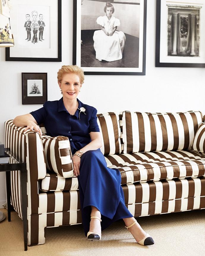 Carolina Herrera is the new curator of the 75th anniversary of Verdura.
