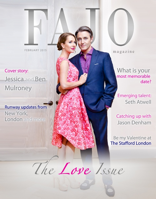 Jessica and Ben Mulroney are on the cover of The Love Issue this month.