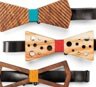 Sam and Mahran Mansouri Wooden bow ties