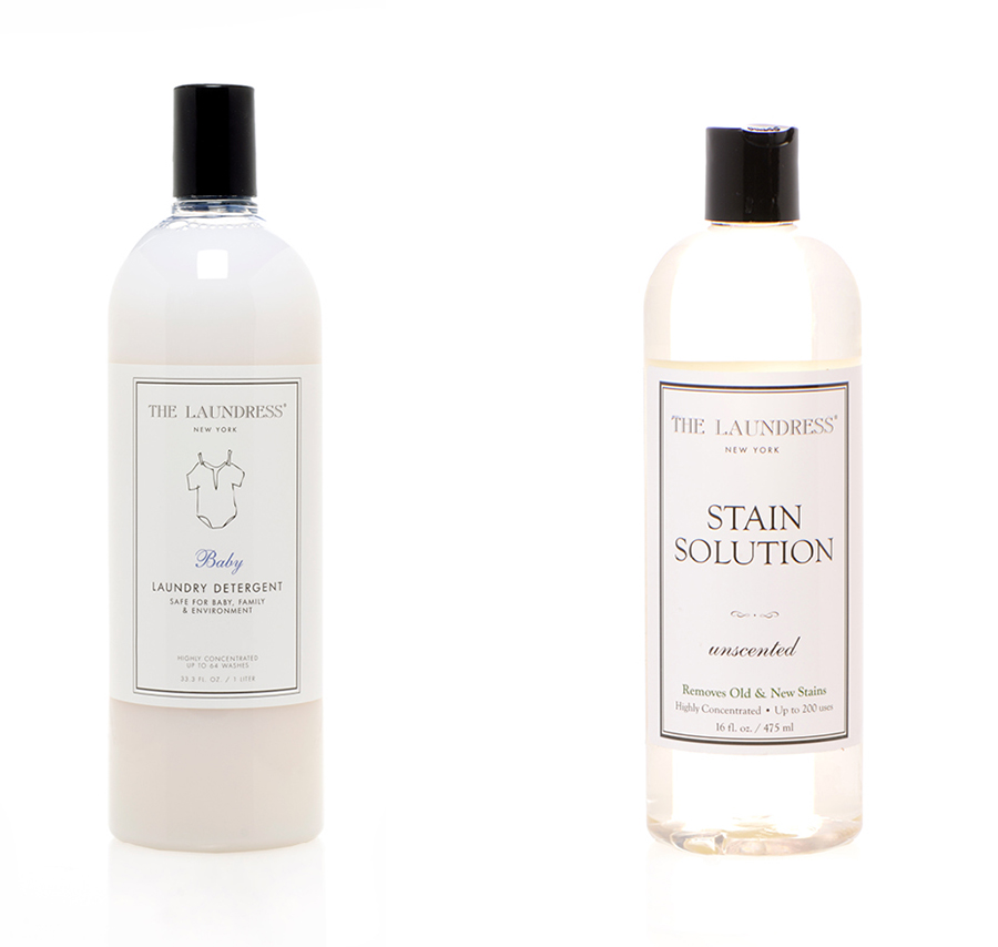 Baby Detergent ($28)  and Stain Solution ($22)