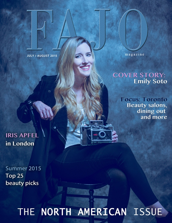 Emily Soto is on the cover of The North American Issue this year.
