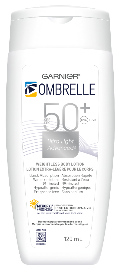 Garnier_Ombrelle_Ultra Light Advanced_Bottle