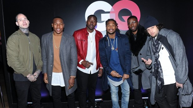 TORONTO, ON - FEBRUARY 12: Omar Boulden of the Denver Broncos and guests attend the GQ, Saks Fifth Avenue, And Future Celebrate All-Star Style event on February 12, 2016 in Toronto, Canada.  (Photo by Sam Santos/Getty Images for GQ)