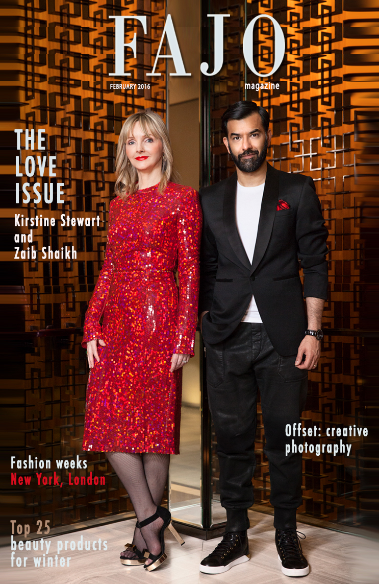 On the cover of The Love Issue this month is the Canadian power couple: Kirstine Stewart and Zaib Shaikh.