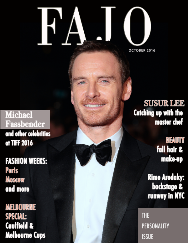 Academy-nominated actor Michael Fassbender is on the cover of The Personality Issue this year. Photo: Twocoms / Shutterstock.com