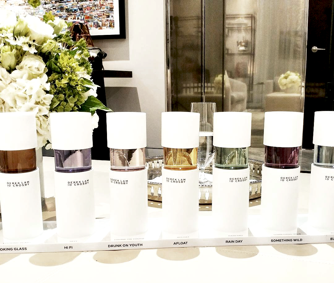Some of the fragrances from the range. Photo: Hannah Yakobi.