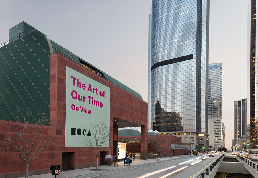 The Museum of Contemporary Art is located in the heart of Los Angeles.