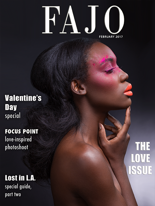 The cover of The Love Issuethis month.