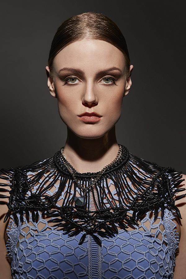 Necklace - Monoxide Style, neckpiece - Toknii, dress - Narces.