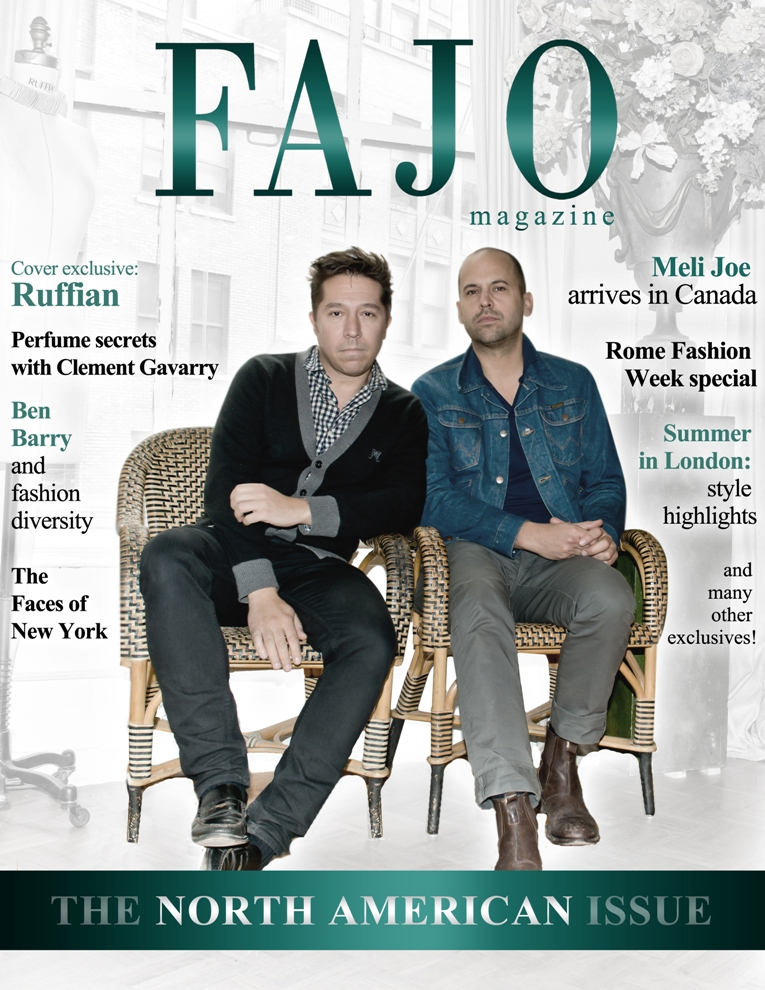 Brian Wolk (left) and Claude Morais are on the cover of The North American Issue this month.