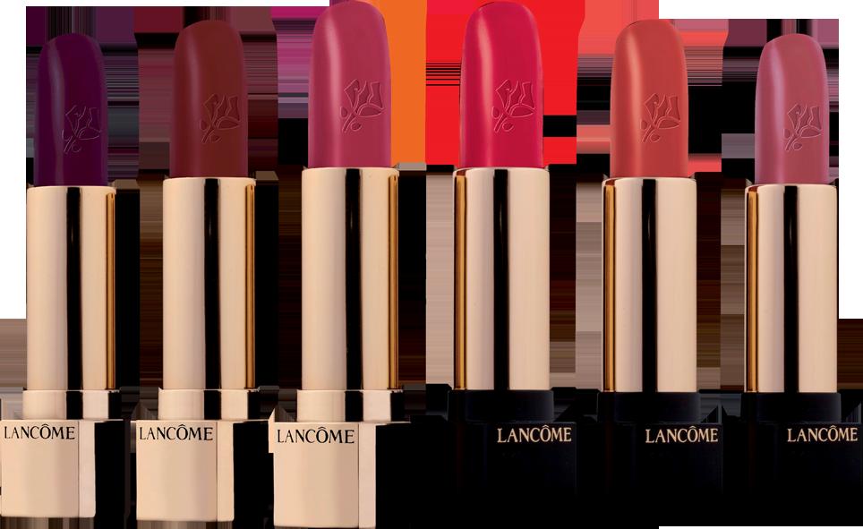Lancôme's renowned Absolu Rouge line.
